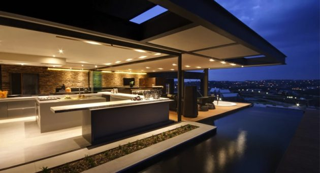 Modern Home Automation Design Futuristic Style