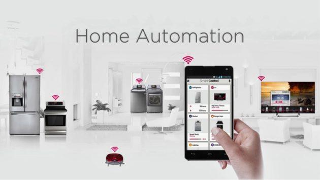 Modern Home Automation Design - Futuristic Style