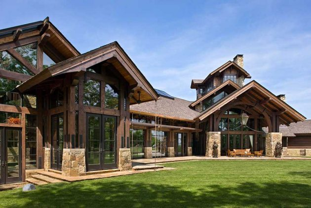 Revival of Timber Frame Home Construction
