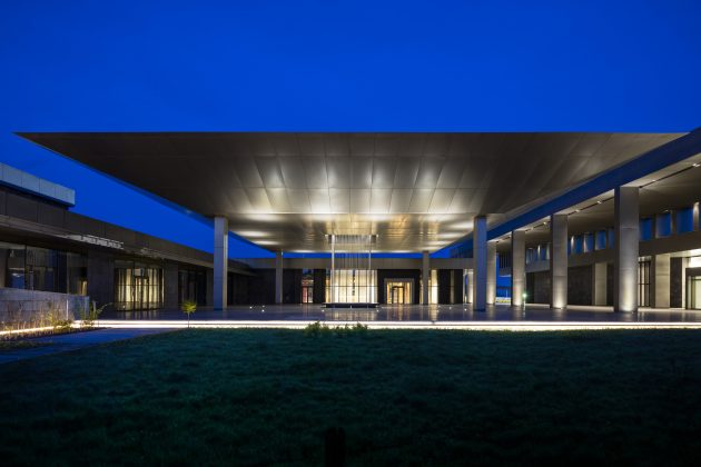Kintele Congress Centre Brazzaville, The Congo Republic, Avci Architects