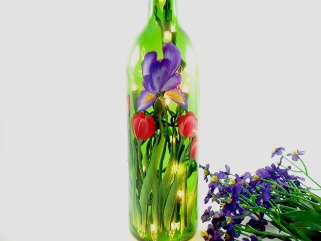 19 Fascinating Examples To Reuse Glass Bottles In A Creative Way