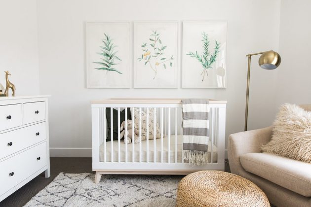 16 Irresistible Neutral Nursery Designs That You Must See