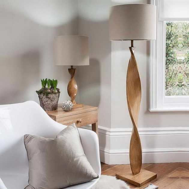 meet 004fa 6ffa1 17 Delightful Wooden Floor Lamp Designs That Will Catch Your Eye