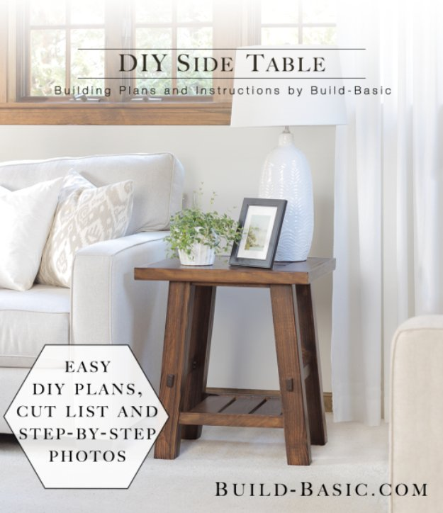 15 Clever Diy End Table Ideas That Anyone Can Craft