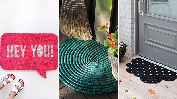 15 Creative DIY Welcome Mat Ideas That Can Send A Message
