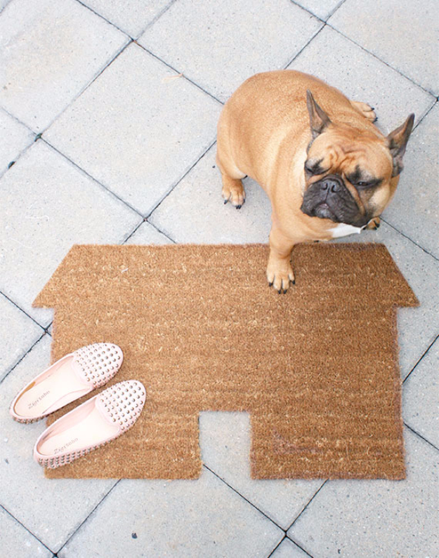 Creative Diy Welcome Mat Ideas That Can Send Message