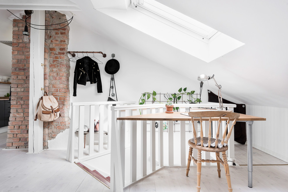15 Spectacular Scandinavian Home Office Designs You'll Want To Work on white home office cabinets, white home office ideas, white modern office design, white small office design, white home office bookcase, white home office built ins, white home office modular furniture,