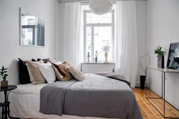 scandinavian bedroom. 16 Fascinating Scandinavian Bedroom Designs To Inspire You
