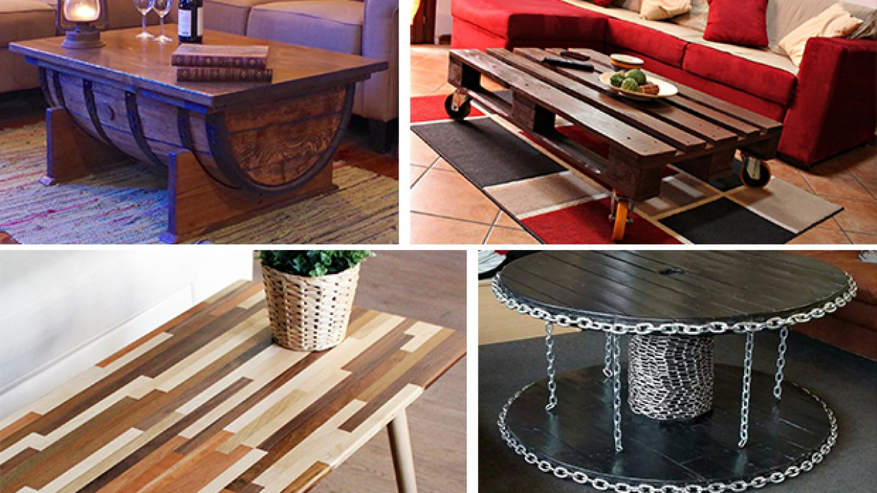 Brilliant 16 Superb Handmade Coffee Table And Side Table Designs For Home Interior And Landscaping Oversignezvosmurscom