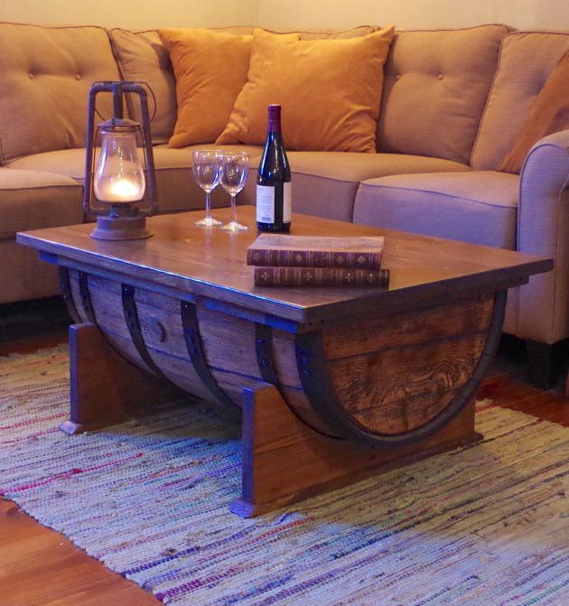 16 Superb Handmade Coffee Table and Side Table Designs For Your Living Room