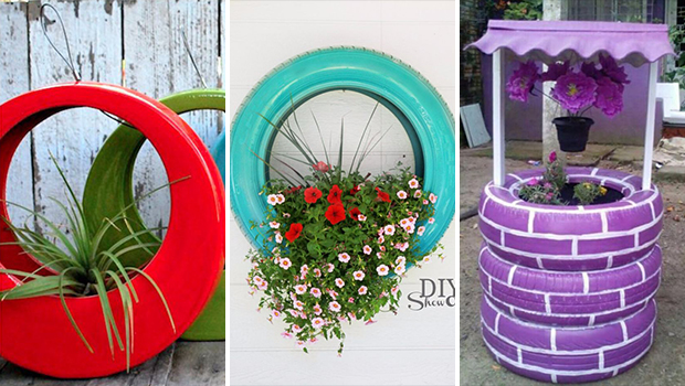 17 Cool DIY Projects That Turn Old Tires Into Awesome ...