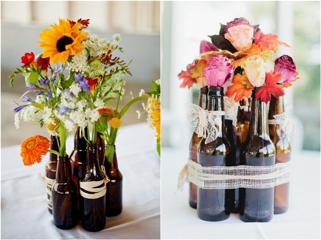 19 Fascinating Examples To Reuse Glass Bottles In A