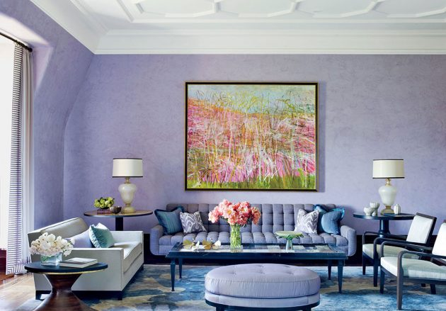 19 Marvelous Purple Interiors Which Are Trendy This Season