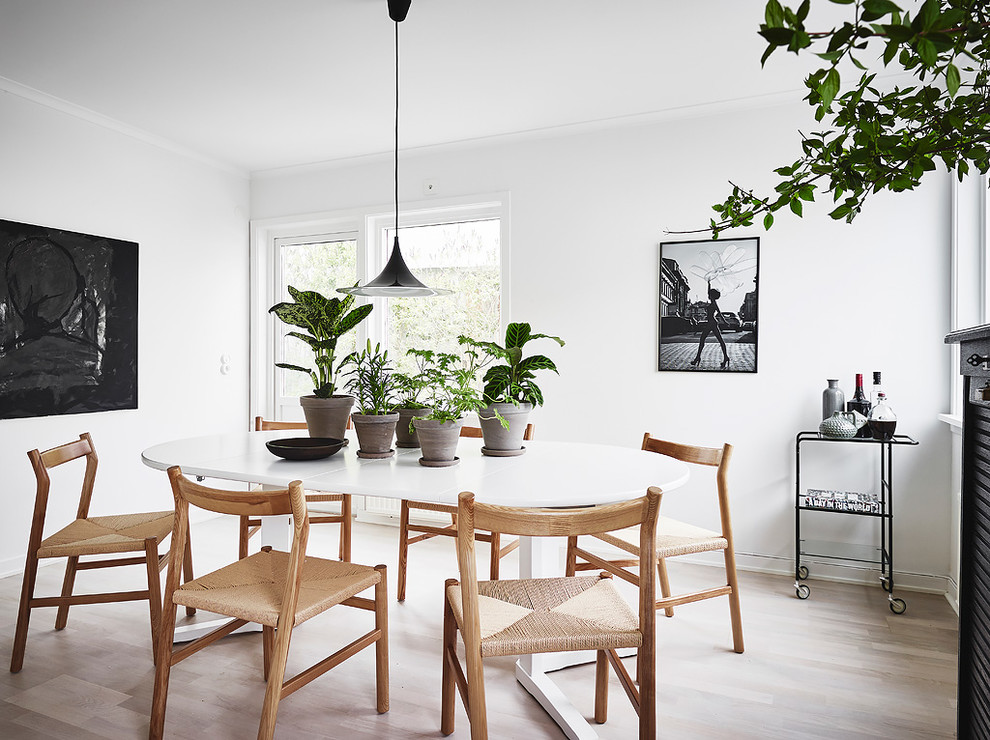 18 Elegant Scandinavian Dining Room Designs That Will