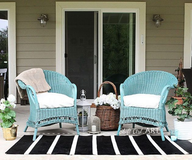 Wicker Furniture Is Trendy Again: 20 Inspirational Examples That Will Delight You