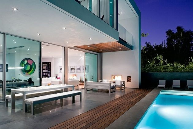 24th Street Residence by Steven Kent Architect in Santa Monica, California