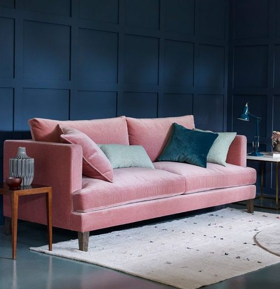 Pink The Monotony In 17 Interiors Break Neutral Designs To Sofa Ac3Rj5qL4