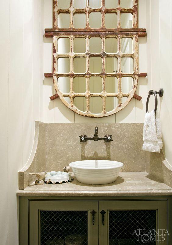 Repurposing Vintage Cabinets Into Beautiful Bathroom Sinks