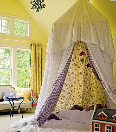 16 Fascinating Indoor Tent Designs That Are Worth Seeing