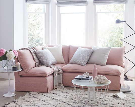 17 Pink Sofa Designs To Break The Monotony In Neutral Interiors