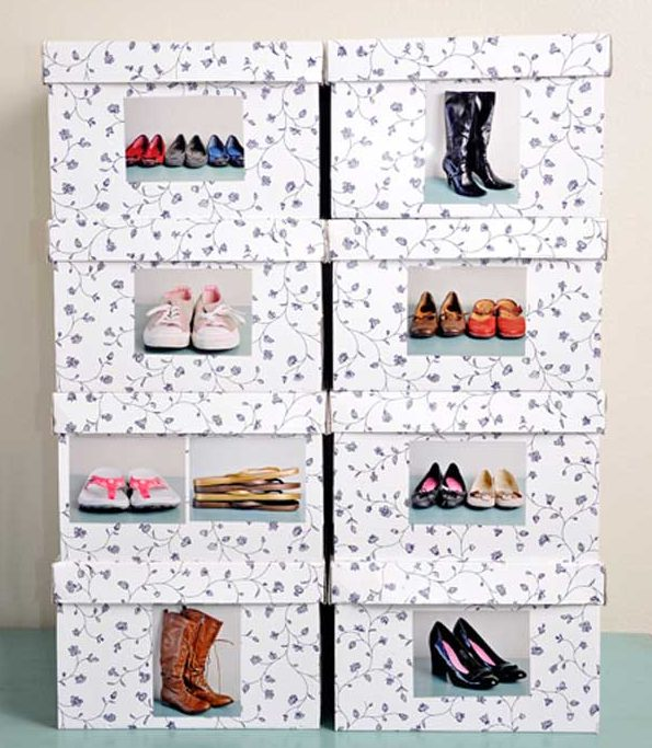 16 Excellent DIY Ways To Easily Store Your Shoes