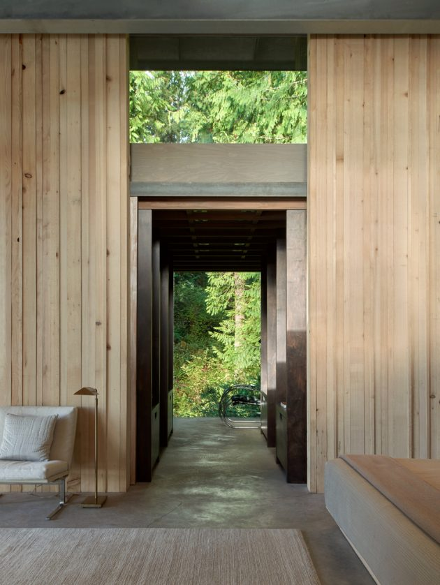 Cabin at Longbranch by Olson Kundig in Washington, USA