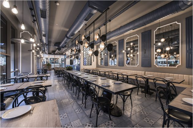 Demirci Restaurant An Eclectic Design In The Historical