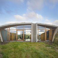 Garður Landhouse by Studio Granda in Reykjavik, Iceland