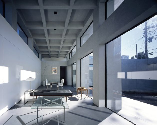 Grid House by APOLLO Architects & Associates in Tokyo, Japan