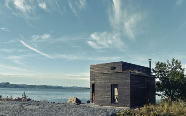 Hadar's House by Asante Architecture & Design on the Island of Stokkøya in Norway