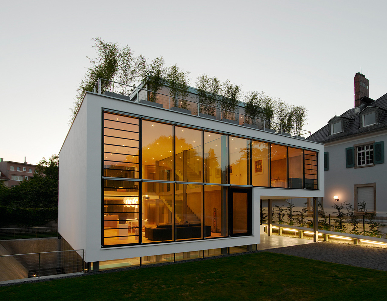 House r by christ christ associated architects in for Karlsruhe design
