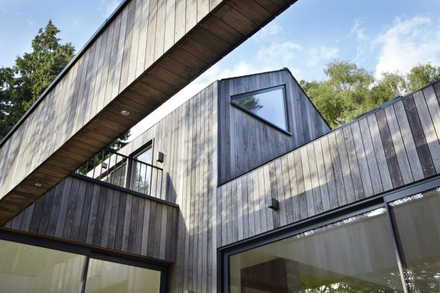 House in the Woods by Alma-nac in Hampshire, England