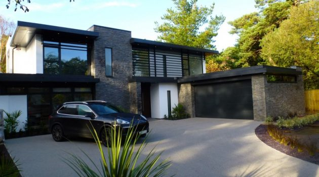 Nairn Road Residence by David James Architects in Dorset, England