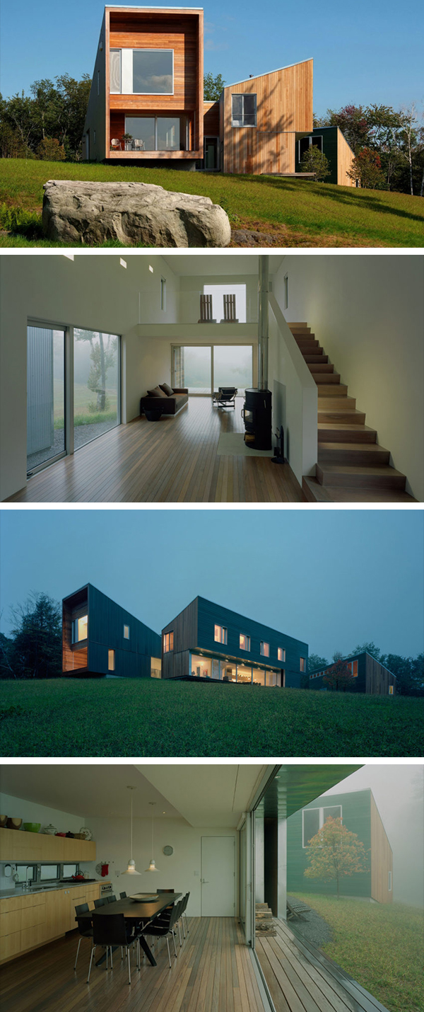 Putney Mountain House by Kyu Sung Woo Architects in Putney, Vermont