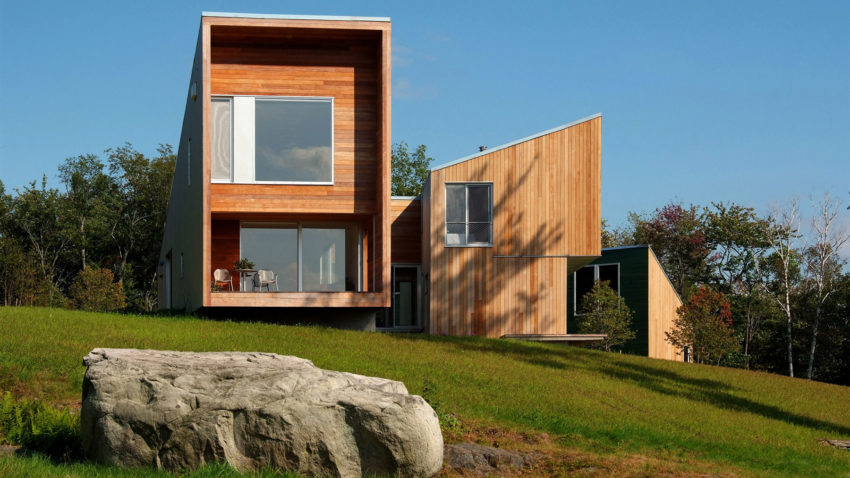 Putney mountain house by kyu sung woo architects in putney for Mountain home architects