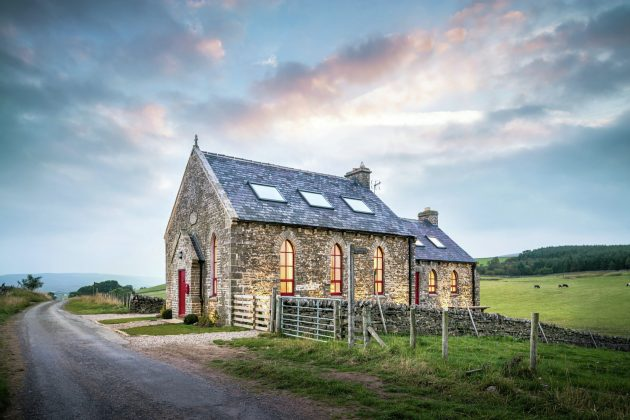 The Chapel on the Hill by Evolution Design in Forest-in-Teesdale, England