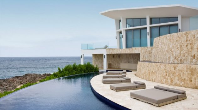 Villa Kishti by Frank Alfred Hamilton and Cecconi Simone Inc. in Anguilla