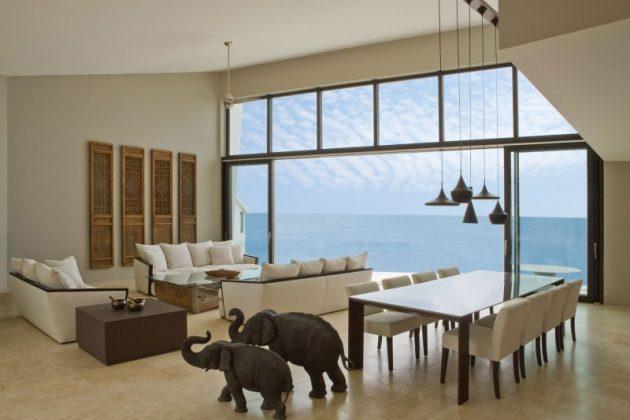 Villa Kishti by Frank Alfred Hamilton and Cecconi Simone Inc. in Anguilla