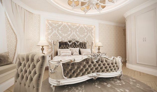 Classic Design Of Apartment, Lviv, Ukraine