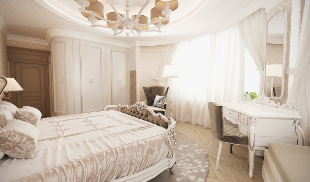Classic Design Of Apartment, Lviv, Ukraine