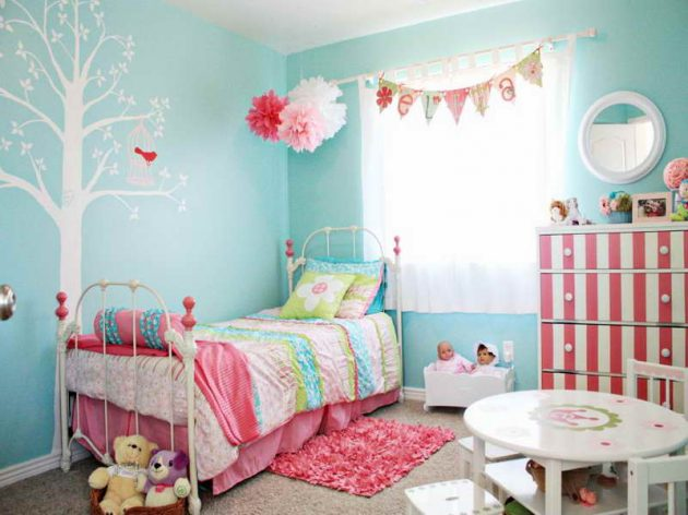 4 Out Of The Ordinary Color Options For The Kids Room