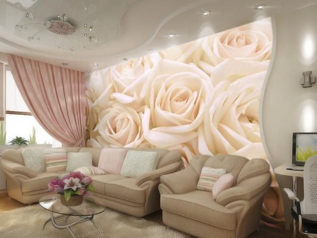 16 Excellent Examples How To Fit Wallpapers Into Modern Style Homes