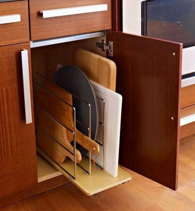 19 Space-Saving Kitchen Elements For Better Utilization Of The Space