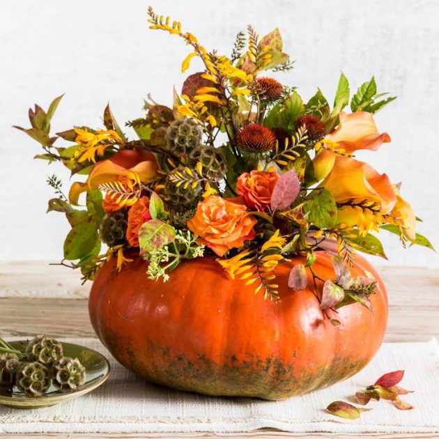15 Totally Easy Diy Fall Flower Arrangements