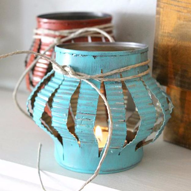 15 Awesome DIY Projects Out Of Recycled Tin Cans