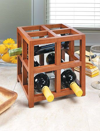 15 Awesome Handmade Wine Rack Displays For A Rustic Look