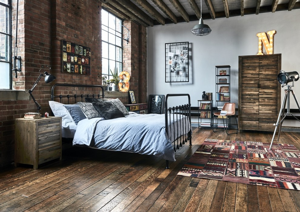 Gentil 15 Compelling Industrial Bedroom Interior Designs That Will Make You Want  Them