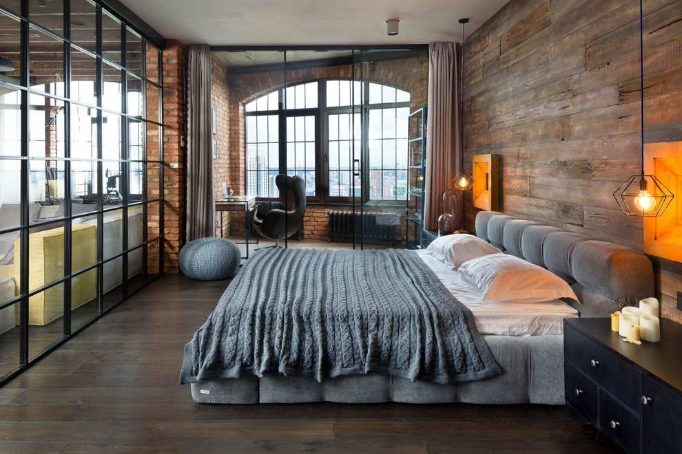 Loft Style Interior. 15 Compelling Industrial Bedroom Interior Designs ...