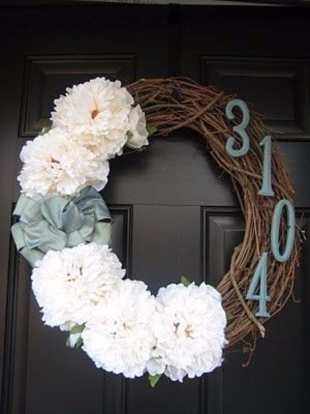 15 Creative Ways To Display Your House Number With DIY ...