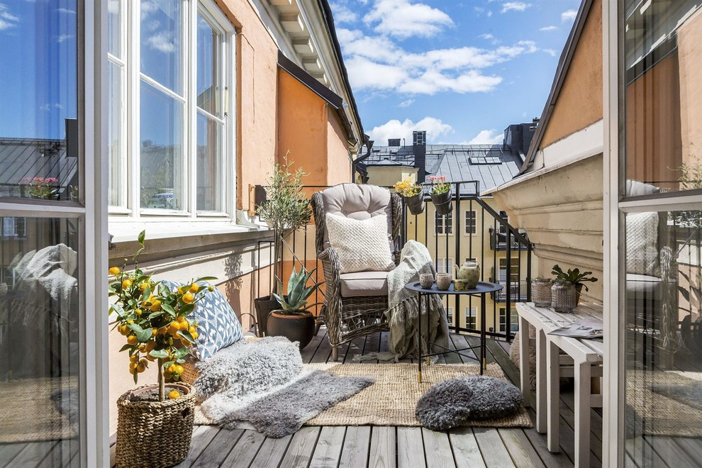 16 Charming Scandinavian Balcony Designs You're Gonna Love